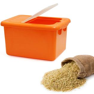 Thùng Đựng Gạo Loại Nhỏ Tashing Plastic Có Nắp Đậy Chắc Chắn