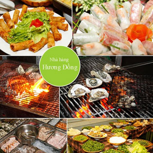 Buffet Tối Tại Nhà Hàng Hương Đồng