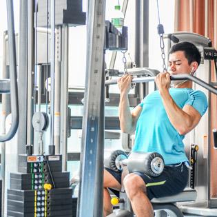 Tập Gym+Xông Hơi 1 Tháng Tại  Olympia  170 Đê La Thành