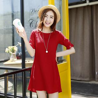 Đầm Linen Nơ Xinh Xắn