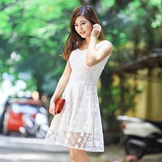 Váy Ren Công Sở Cao Cấp Euro Style