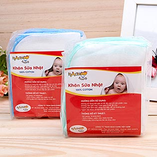 Combo 2 Gói Khăn Sữa Nhật Kachoo Baby