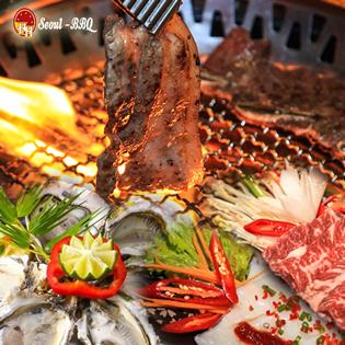 Buffet Nướng Lẩu Không Khói Hàn Quốc Seoul BBQ