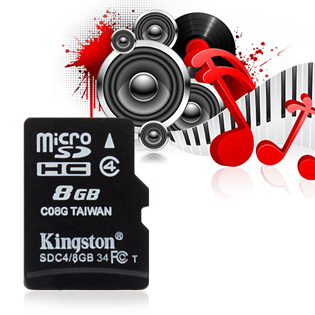 Thẻ nhớ 8GB Kingston Class 4 - Bảo Hành 1 Năm