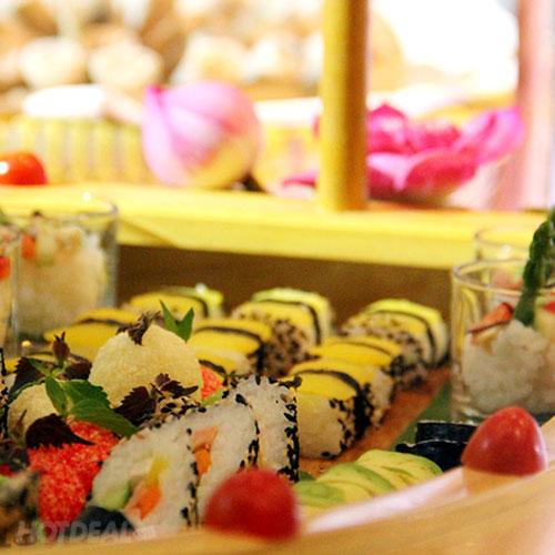 Buffet Chay Grand Palace - Hơn 80 Món Đặc Sắc Mùa Vu Lan