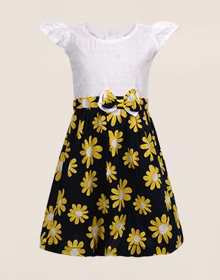 Váy Xòe Hoa H&M Cho Con Yêu