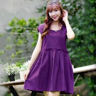 Đầm Linen ILA Thanh Lịch