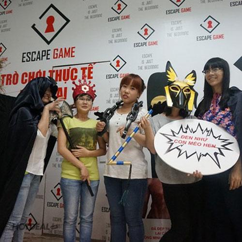 Escape Game – Trò Chơi Nhập Vai Thực Tế Gây Nghiện Giới Trẻ Hiện Nay (4-10 Người)