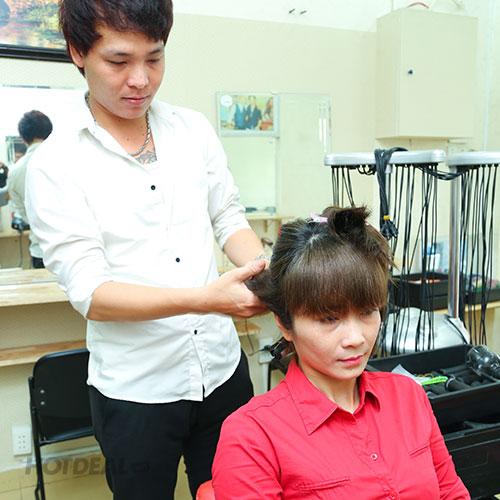 Cắt + Gội + Massage + Hấp Dầu + Sấy Tạo Kiểu Tại Hair Salon Long Nguyễn