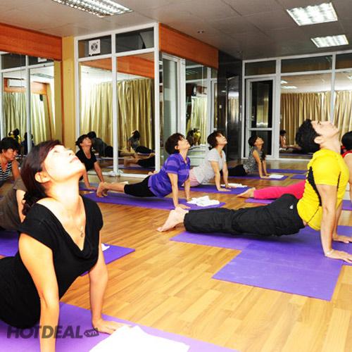 Thẻ Tập Yoga 1 Tháng Tặng Kèm Gội Đầu + Đắp Mặt Nạ Tóc Tại An Spa