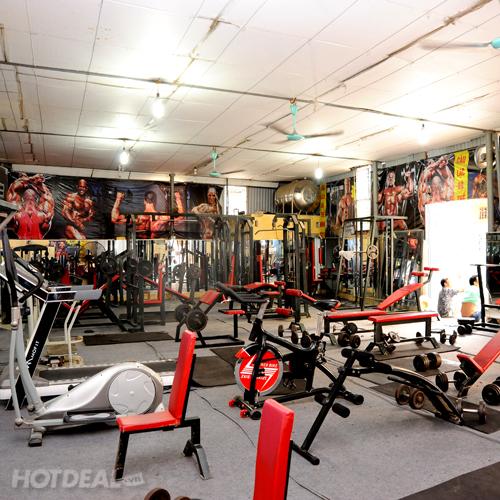 2 Tháng Tập Gym Không Giới Hạn Tại TK Gym Club
