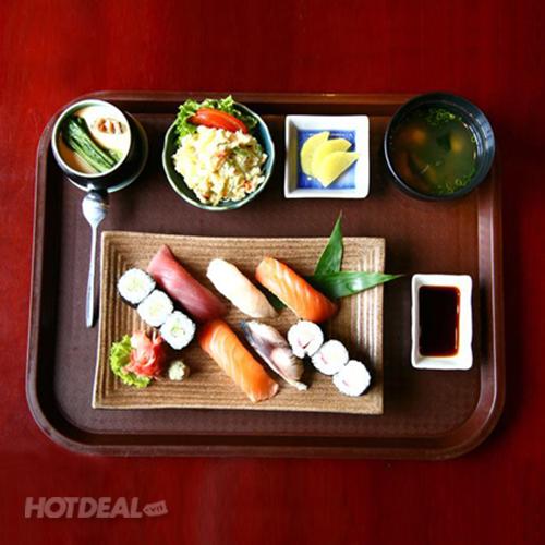 1 Trong 3  Set Ăn Nhật Cho 1 Người - NH KOTO BBQ SUSHI