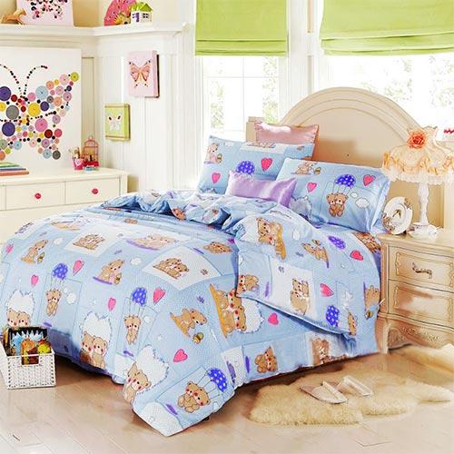 Bộ Drap + Mền Cotton Hàn Quốc BST15 Thương Hiệu Ngọc Anh