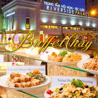 Buffet Chay 60 Món Đặc Sắc Đón Lễ Vu Lan Tại Riverside Palace