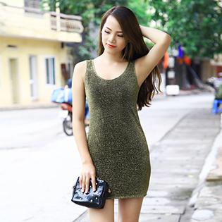 Váy Body Kim Tuyến Lấp Lánh