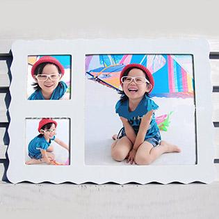 Bộ Khung Ảnh Để Bàn Hàn Quốc Chữ Nhật Cuties Moments