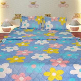 Bộ Drap + Mền Cotton Hàn Quốc BST16 Thương Hiệu Ngọc Anh