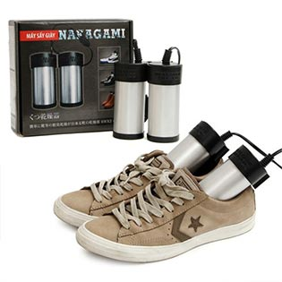 Máy Sấy Giày Nakagami Dành Cho Giày Vải Sấy Khô Siêu Nhanh – Bảo Hành 6 Tháng