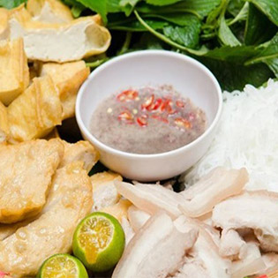 2 Phần Bún Đậu Mắm Tôm Tại NH Món Ngon Việt - CN 1