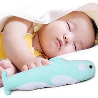 Gối Ôm Hình Con Cá Heo Cho Bé Yêu Baby Top