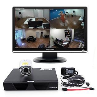 Camera Metsuki MS-6000 HDIS Và Đầu Ghi Hình Metsuki MS-4004AHD