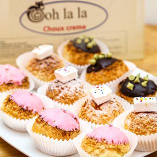 Combo 12 Bánh Su Kem Deluxe Tại Bánh Su Kem Ooh La La