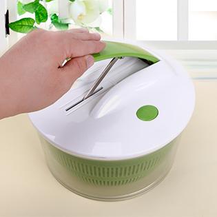 Rổ Quay Rau Salad Spinner Cao Cấp Kèm Bộ Cắt Gọt Rau Củ Nghệ Thuật