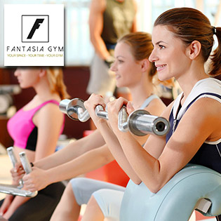 Fantasia Gym Club - 1 Tháng Tập Gym + Fitness + Aerobic + Zumba – Tặng 2 Buổi Tập Với HLV