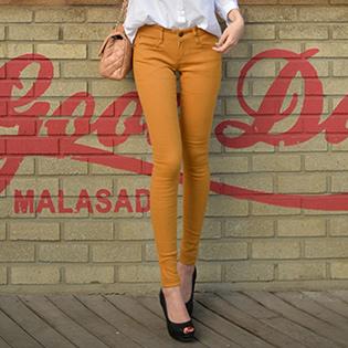 Quần Kaki Jeans Color