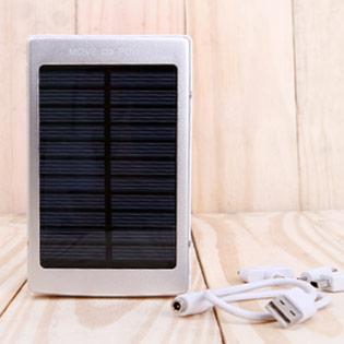 Pin Sạc Dự Phòng Năng Lượng Mặt Trời Power Bank 30.000mAh - BH 12 Tháng