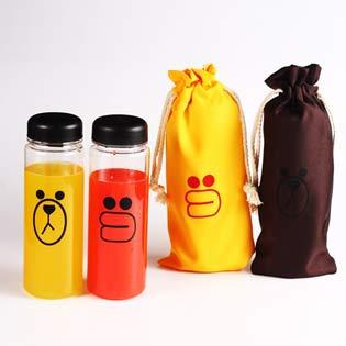 Bình Nước + Túi My Bottle Hình Gấu