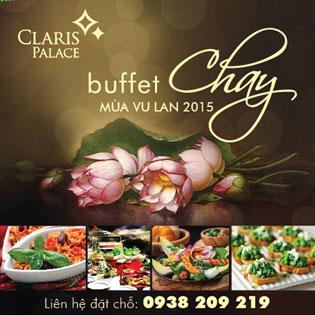 Buffet Chay Mùa Vu Lan Tại Trung Tâm Hội Nghị Tiệc Cưới Claris Palace