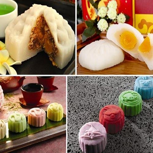 Khóa Học Làm Bánh Trung Thu Ngàn Lớp/ Bánh Dẻo Da Tuyết Trong 01 Buổi