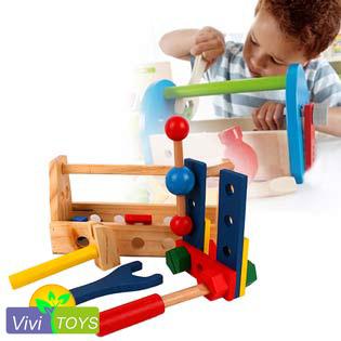 Bộ Công Cụ Kỹ Thuật Kèm Khay Cao Cấp Vivi Toys