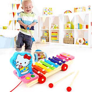 Đàn Xe Kéo 8 Thanh Cao Cấp Vivi Toys