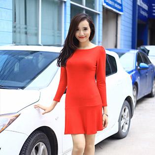 Đầm Đuôi Cá Dạo Phố