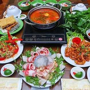 Set Lẩu Thái Đầy Đặn Dành Cho 4N Tại Thai Restaurant