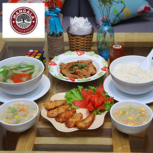 Thanh Tịnh Set Ăn Cho 2N Tại Nhà Hàng Chay Mangala