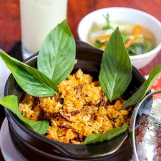 Combo Chay Cơm Tay Cầm + Soup + Sữa Bắp Dành - Quán Chay Ngọc Linh