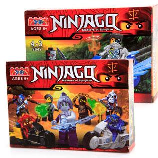 Combo 2 Bộ Đồ Chơi Lego Ninjgo 9642