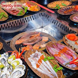 Buffet Lẩu Nướng Nhật Bản Spicy BBQ