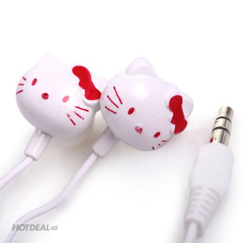 Tai Nghe Hello Kitty Xinh Xắn 5 Màu Lựa Chọn