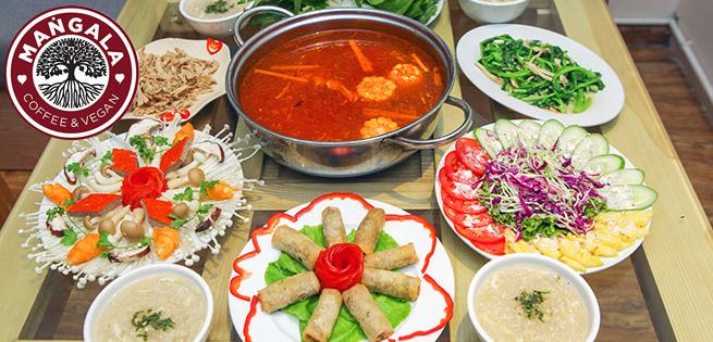Thanh Tịnh Set Ăn Cho 4N Tại NH Chay Mangala