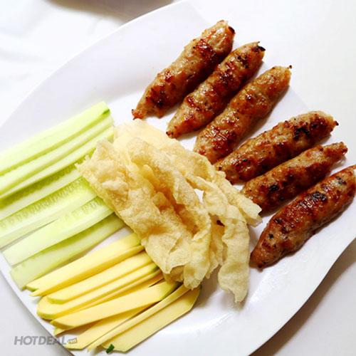 Combo 1 Phần Nem + 2 Bánh Canh/ Bún Chả Cá Nha Trang + 2 Ly Nước