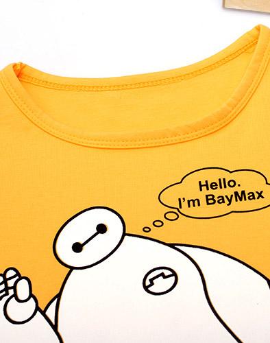 Áo Thun Baymax Cho Bé Trai/ Gái