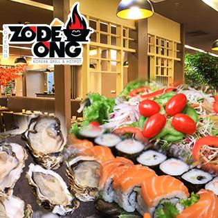Buffet Lẩu Nướng Hàn Quốc Không Khói Nhà Hàng ZODÊONG - Royal City