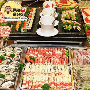 Buffet Lẩu & Nướng Hải Sản, Bò Mỹ Nhà Hàng Phú Ông – Royal City