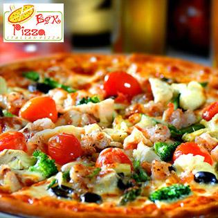 Pizza 16 Loại Nhân Tại Hệ Thống NH Pizza Box – A/d Cho Mua Mang Về
