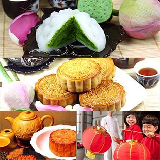 Hộp 4 Bánh Trung Thu Chay - Chính Hiệu Đồng Khánh Bông Lúa Vàng tại Hồ Chí Minh