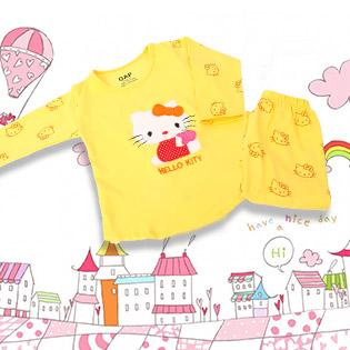 Thu Sang Với Bộ Đồ Hello Kitty Cho Bé